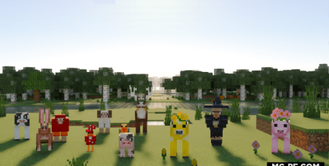 Животные из Minecraft Earth [1.16]