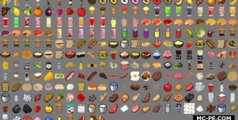 Много Еды [1.16] [1.14] (Lots More Food)