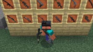 Мод XM Guns [1.14] (Пистолеты, Автоматы, Дробовики и др. оружие)