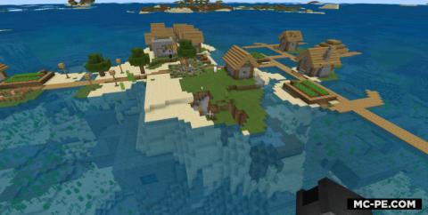 Остров с деревней и крепостью [1.16] [1.15] [1.14]