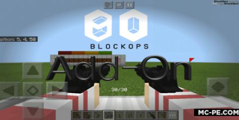 Мод на огнестрельное оружие БлокОпс [1.16] (BlockOps)