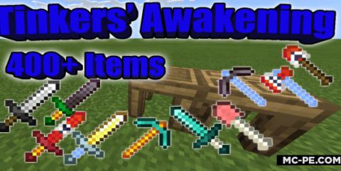 Tinkers' Awakening [1.16] — мод на 400 мечей и инструментов