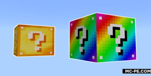 Радужные лаки блоки [1.16] (Rainbow Lucky Block)