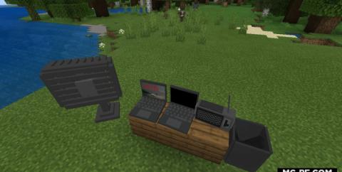 Мод на ноутбуки, радио и вентилятор [1.16] (More Models)
