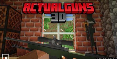 ActualGuns 3D [1.16] (огнестрельное оружие)