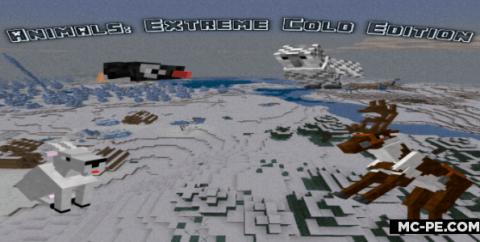 Animals! Extreme Cold Edition [1.16] — мод на оленей, сов, пингвинов и коз