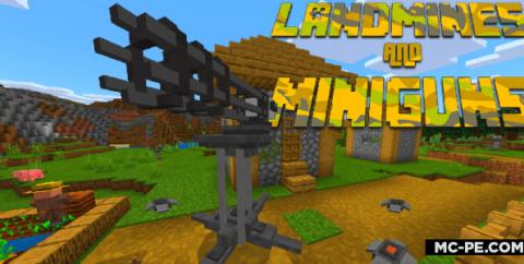 Мод на Ракетные установки и миниганы [1.16] [1.15] [1.14] (Miniguns Add-on)