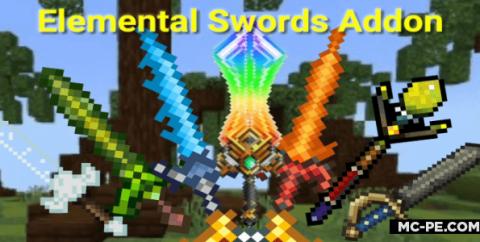 Элементальные мечи [1.16] [1.15] [1.14] (Elemental Swords)