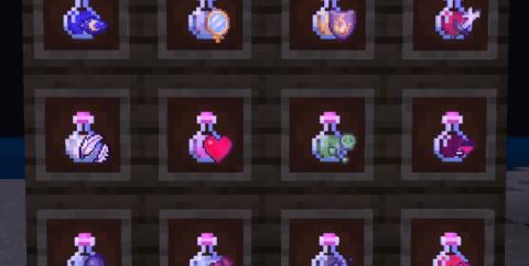 Easy Potions [1.16] — понятные иконки зелий