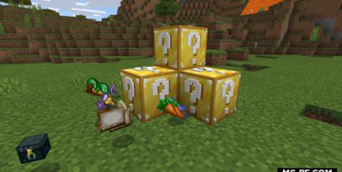 3Д Лаки блоки в Структурах (Lucky Block iKorbon)