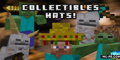 Мод на шапки и шляпы [1.16] (Collectible Hats!)