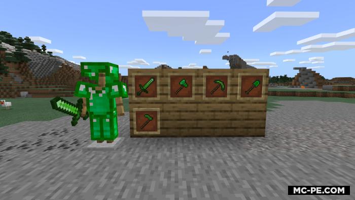 Изумрудная броня [1.16] (Emerald Armor)
