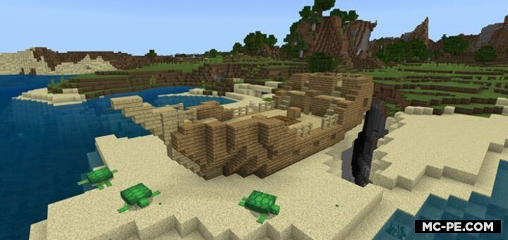 Сид — Заброшенный корабль с изумрудами на песке [1.16] [1.15] [1.14]