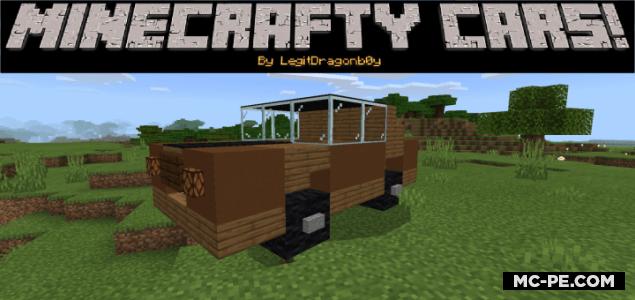 Машины из стандартных блоков [1.16] (Minecrafty Cars!)
