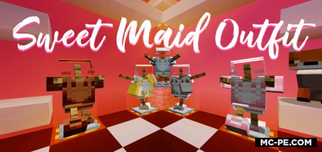 Милые наряды для девочек [1.16] (Sweet Maid Outfit)