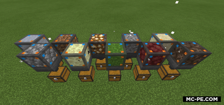 Мод на генераторы блоков [1.16]