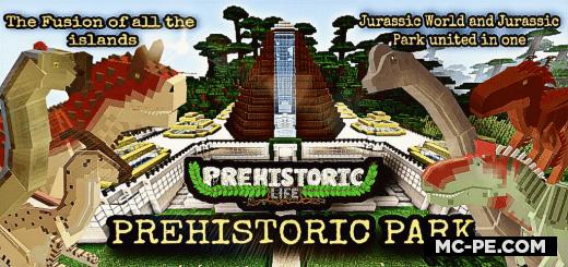 Карта: Парк с Динозаврами [1.17] [1.16]