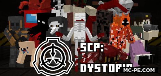 Мод: Монстры SCP: Dystopia [1.17] [1.16]